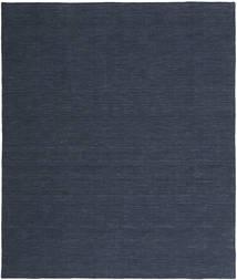 Kelim Loom - Denim Sininen Matto 250X300 Moderni Käsinkudottu Tummansininen/Sininen Isot (Villa, Intia)
