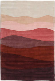 Feeling Handtufted - Wine Rug 200X300 Modern Dark Red/Light Brown (Wool, India)
