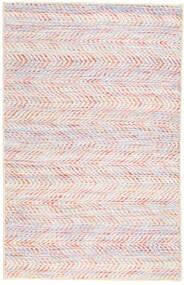 キリム インド 絨毯 75X121 モダン 手織り ライトピンク/ベージュ (ウール, インド)
