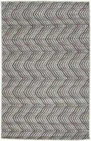 Kilim Indo Tappeto 75X121 Moderno Tessuto A Mano Grigio Chiaro/Grigio Scuro (Lana, India)
