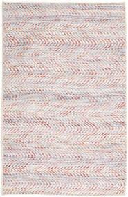 Kelim Indisk Tæppe 75X120 Ægte Moderne Håndvævet Lyserød/Lysegrå (Uld, Indien)