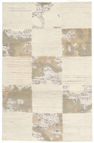 Handtufted Teppich  94X150 Moderner Beige/Hellbraun (Wolle, Indien)