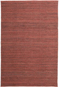 Alva - Dark_Rust/Black Rug 200X300 Authentic  Modern Handwoven Brown/Dark Brown (Wool, India)