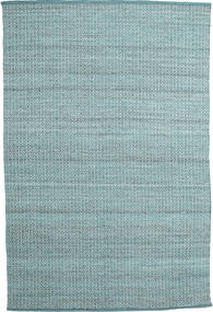 Alva - Turquoise/White Χαλι 200X300 Σύγχρονα Χειροποίητη Ύφανση Ανοικτό Μπλε/Σκούρο Τυρκουάζ (Μαλλί, Ινδικά)