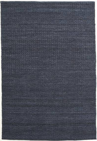 Alva - Blue/Black Rug 160X230 Authentic  Modern Handwoven Dark Blue/Purple (Wool, India)
