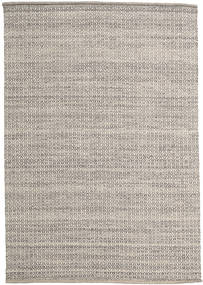 Alva - Brown/White Rug 160X230 Authentic  Modern Handwoven Light Grey/Light Brown (Wool, India)