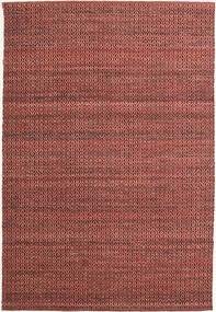 Alva - Dark_Rust/Black Rug 160X230 Authentic  Modern Handwoven Brown/Dark Brown (Wool, India)