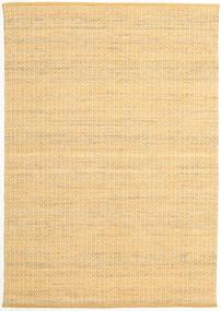 Alva - Mørk _Gold/Vit Teppe 160X230 Ekte Moderne Håndvevd Mørk Beige/Lysbrun (Ull, India)