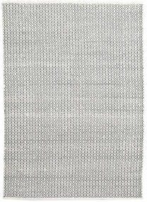 Alva - White/Black Rug 160X230 Authentic  Modern Handwoven Dark Grey/Beige (Wool, India)