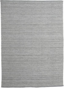 Alva - Dark Grey/White Rug 250X350 Authentic  Modern Handwoven Light Grey/Dark Grey Large (Wool, India)