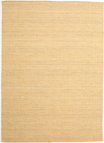 Alva - Dark _Gold/White Rug 250X350 Authentic  Modern Handwoven Dark Beige/Light Brown Large (Wool, India)