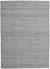 Alva - Grey/Black Rug 250X350 Authentic  Modern Handwoven Dark Grey/Light Grey Large (Wool, India)