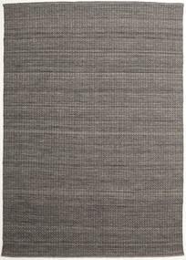 Alva - Brown/Black Rug 250X350 Authentic  Modern Handwoven Dark Grey/Light Grey Large (Wool, India)