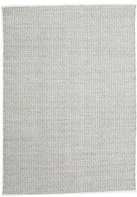 Alva - White/Black Rug 250X350 Authentic  Modern Handwoven Light Grey/Dark Grey Large (Wool, India)