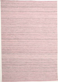 Alva - Pink/White Rug 250X350 Authentic  Modern Handwoven Light Pink/Light Purple Large (Wool, India)