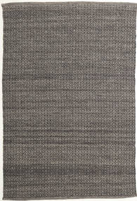 Alva - Brown/Black Rug 160X230 Authentic  Modern Handwoven Dark Grey/Light Grey (Wool, India)