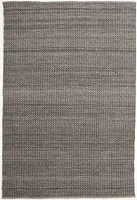 Alva - Brown/Black Rug 200X300 Authentic  Modern Handwoven Dark Grey/Light Grey (Wool, India)