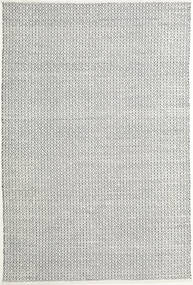 Alva - White/Black Rug 200X300 Authentic  Modern Handwoven Light Grey/Beige (Wool, India)