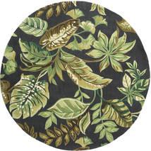 Jungel - Groen / Zwart tapijt CVD21575