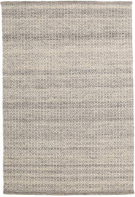 Alva - Brown/White Rug 140X200 Authentic  Modern Handwoven Light Grey/Light Brown (Wool, India)