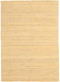 Alva - Dark _Gold/White Rug 140X200 Authentic  Modern Handwoven Light Brown/Dark Beige/Light Pink (Wool, India)