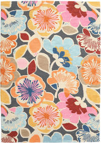 Flower Power - Multi Rug 160X230 Modern Light Pink/Dark Grey (Wool, India)