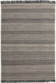 Hedda - Brown Rug 160X230 Authentic  Modern Handwoven Dark Grey/Light Grey (Wool, India)