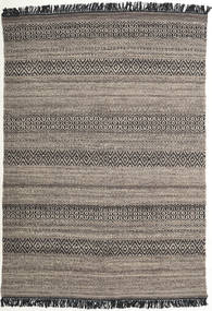 Hedda - Brown Rug 140X200 Authentic  Modern Handwoven Dark Grey/Light Brown/Light Grey (Wool, India)