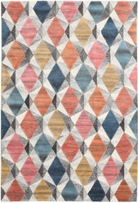 Prisma - Multi Rug 200X300 Modern Dark Beige/Dark Grey (Wool, India)