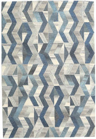 Ziggy - Grey/Blue Rug 200X300 Modern Light Grey/Dark Beige (Wool, India)