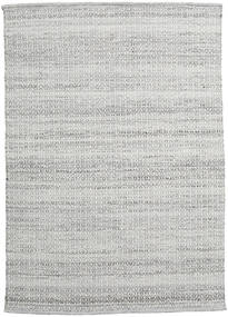Alva - Grey/White Rug 140X200 Authentic  Modern Handwoven Light Grey (Wool, India)