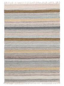 Ester Rug 140X200 Authentic  Modern Handwoven Light Grey (Wool, India)