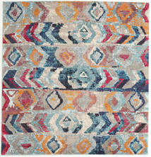 Moritz Rug 200X200 Modern Square Light Grey/Purple ( Turkey)