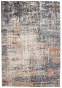Favia Rug 200X300 Modern Light Grey/Dark Grey ( Turkey)