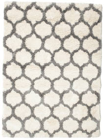 Berber Shaggy Illusia - Off White/Grey Rug 240X300 Modern Beige/Light Grey ( Turkey)