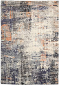 Favia Rug 240X340 Modern Light Grey/Dark Grey ( Turkey)