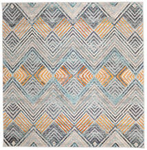 Missonia Rug 200X200 Modern Square Light Grey/Blue ( Turkey)