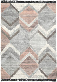 Silvana Rug 160X230 Authentic  Modern Handwoven Light Grey/Beige (Wool, India)