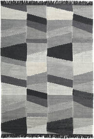 Viola - Grey/Black Rug 160X230 Authentic  Modern Handwoven Light Grey/Dark Grey (Wool, India)