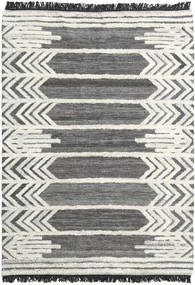 Arrow Rug 160X230 Authentic  Modern Handwoven Dark Grey/Dark Beige (Wool, India)
