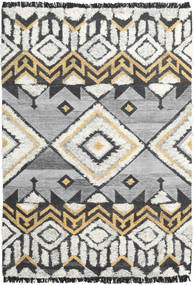 Deco Rug 160X230 Authentic  Modern Handwoven Light Grey/Black (Wool, India)