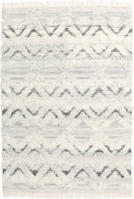 Lydia Rug 160X230 Authentic  Modern Handwoven Dark Beige/White/Creme (Wool, India)