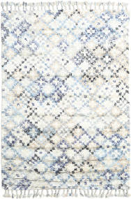 Greta Rug 160X230 Authentic  Modern Handwoven Beige/White/Creme (Wool, India)