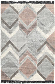 Silvana Rug 140X200 Authentic  Modern Handwoven Light Grey/Beige (Wool, India)