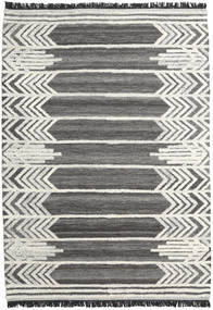 Arrow Rug 200X300 Authentic  Modern Handwoven Dark Grey/Dark Beige (Wool, India)
