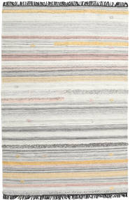Ragna Rug 200X300 Authentic  Modern Handwoven Light Grey/Dark Beige (Wool, India)