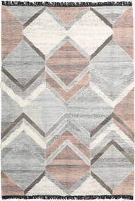 Silvana Rug 200X300 Authentic  Modern Handwoven Light Grey/Dark Beige (Wool, India)