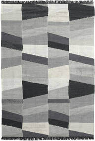 Viola - Grey/Black Rug 200X300 Authentic  Modern Handwoven Light Grey/Dark Grey (Wool, India)
