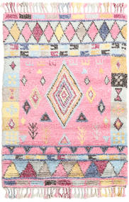 Fanny Rug 120X180 Authentic  Modern Handknotted Light Pink/Beige (Wool, India)