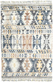 Märta - Blue Rug 200X300 Authentic  Modern Handknotted Light Grey/Beige (Wool, India)